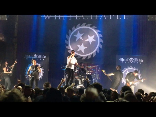 Whitechapel Prostatic Fluid Asphyxiation Live 3-3-17 Metal Blade 35th Mercury Ballroom Louisville KY