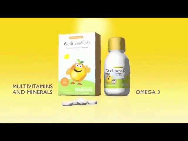 Wellness kids by Oriflame прикольная реклама