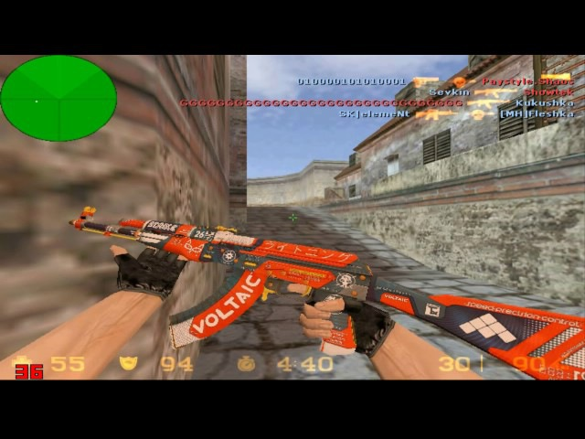 Кс 1.6 на режиме Deathmatch 1