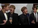 BTS freakin excited at billboard REMIX by RYUSERALOVER