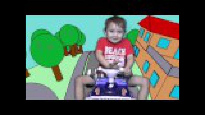 Вредный Ребенок СБИЛ ЩЕНЯЧИЙ ПАТРУЛЬ Денис гоняет на Машине Bad Baby Car Crash PAW PATROOL