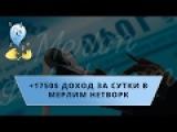 1750$ доход за сутки MERLIM NETWORK ЛОХОТРОН 08.01.2017 - ОБЗОР МЕРЛИМ НЕТВОРК