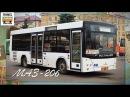 Транспорт в России . Автобус МАЗ-206 | Transport in Russia . Bus MAZ-206