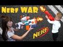 Нёрф Война на Русском Мама против Даньки Nerf War Mom Vs Son
