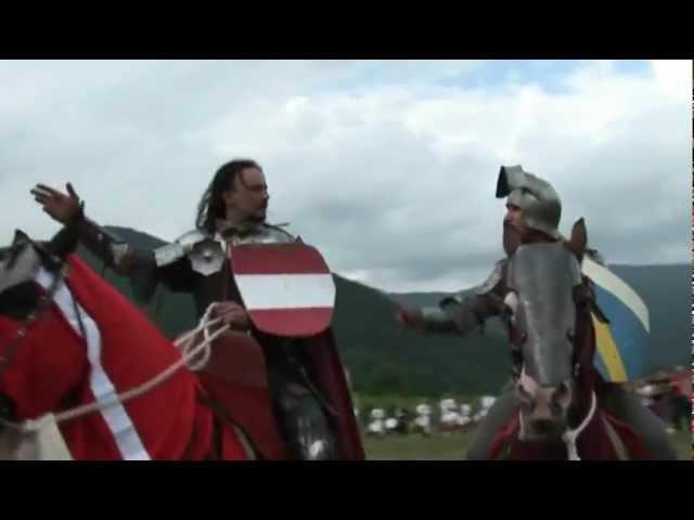 I CAVALIERI DI CIVIDALE spettacoli equestri medievali