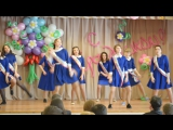 11 класс танец девочек