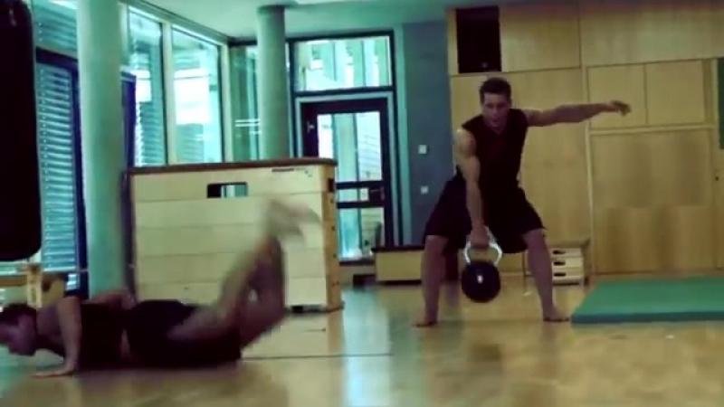 Martial Arts Hardcore Training Fitness Training Motivation (1)