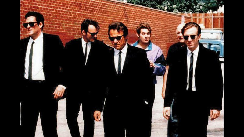Бешеные псы 1991 Reservoir Dogs реж Квентин Тарантино триллер драма криминал