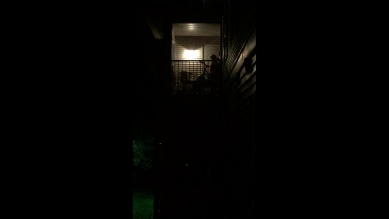 Porrada no vizinho