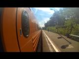 Лето 2016 (Trainsurfing in Russia 2016; зацепинг; руфинг; трейнхопп; латвийский экспресс; GoPro Hero 3 black edition; зацепер)