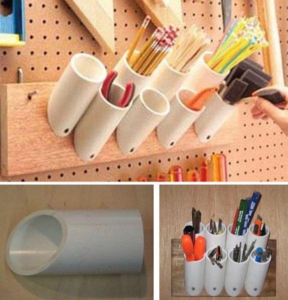 Какие полезные поделки можно сделать для дачи из пластиковых труб