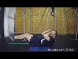 Core exercises for swimming underwater dolphin kicks