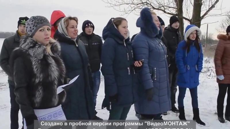 флешмоб ДНР с Петропавловка Три белых коня из к ф Чародеи 12 12 2016