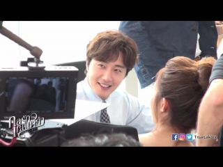 Jung Il Woo at filming Love and Lies