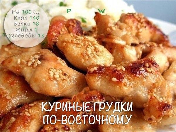 Рецепты вторых блюд с куриной грудкой фото