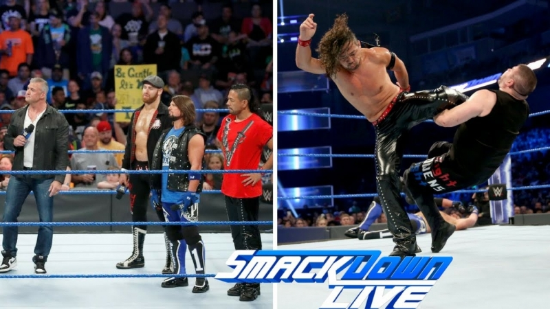 [WWE QTV]☆[Smackdown Live]☆[Highlights]☆[720]HD]24.05.2017]☆[Смек Лайв]☆[Основные моменты][23 May 2017]