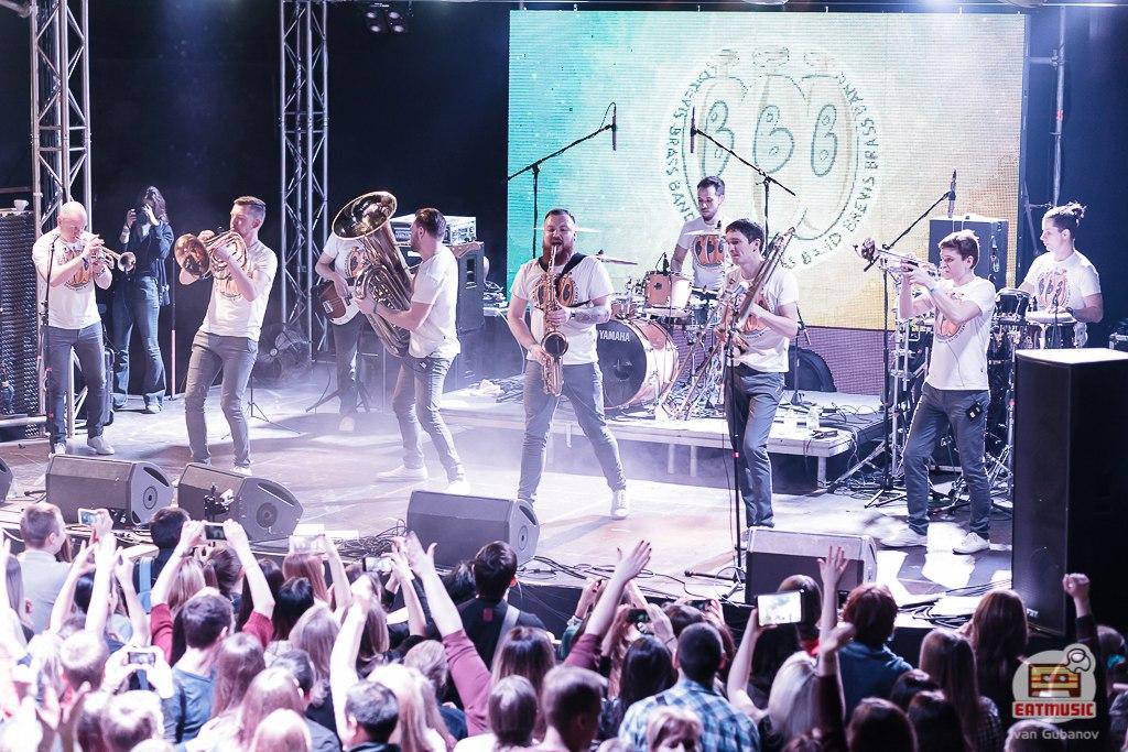 Большой зимний концерт Brevis Brass Band в Volta: репортаж, фото Иван Губанов