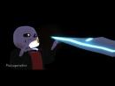 Underfell Animation - Санс и Папирус встречают Смерть! MMD_HD