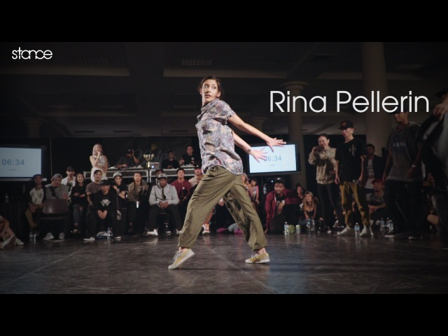 Rina Pellerin at Reign Supreme stance All Styles x Bumbershoot 2016