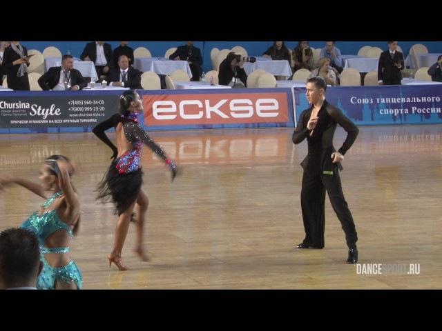 Dmitry Kulebakin - Maria Chernykh, RUS, 1/2 Samba