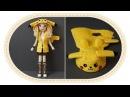 Девушка Пикачу крючком, часть 12 (Кофта, часть1). Crochet Pikachu girl, part 12 (Hoodie, part 1).