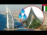 Middle East water crisis UAE plans man-made mountain to increase rainfall - TomoNews
