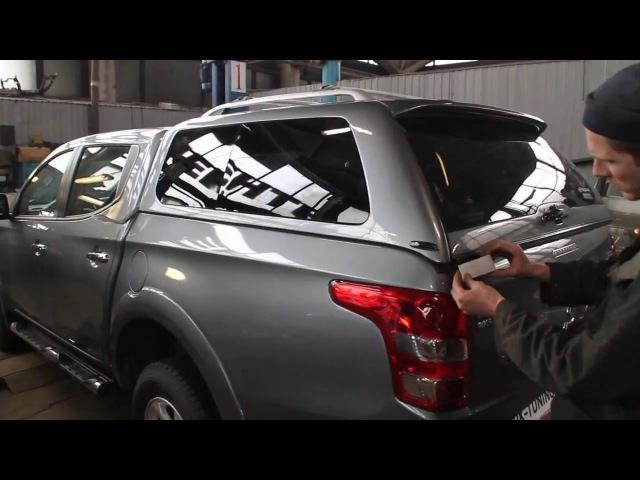 Установка кунга на Mitsubishi l200 2015