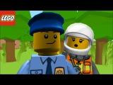 Мультик Лего полиция - Юниор. Cartoon LEGO Juniors Police
