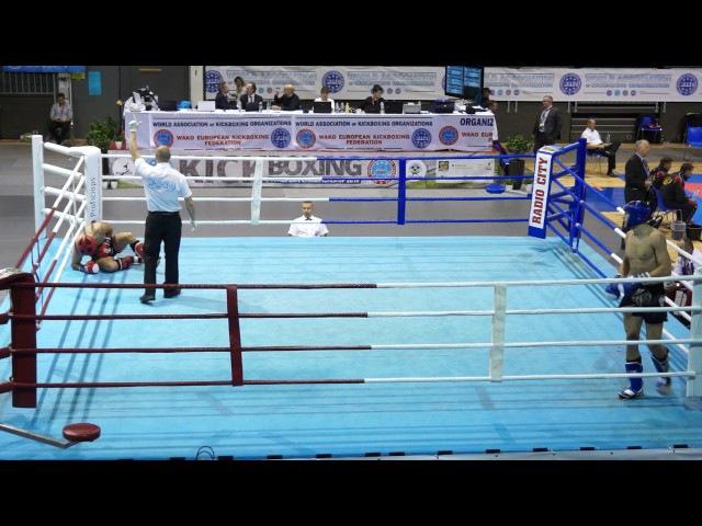 Piatnitca Roman RUS vs Selimovic Mesud BIH 86 kg K1 WAKO 26 10 2016