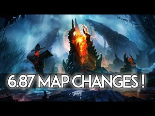 Patch Changes Dota 2 - Old/New Map Changes & Comparison