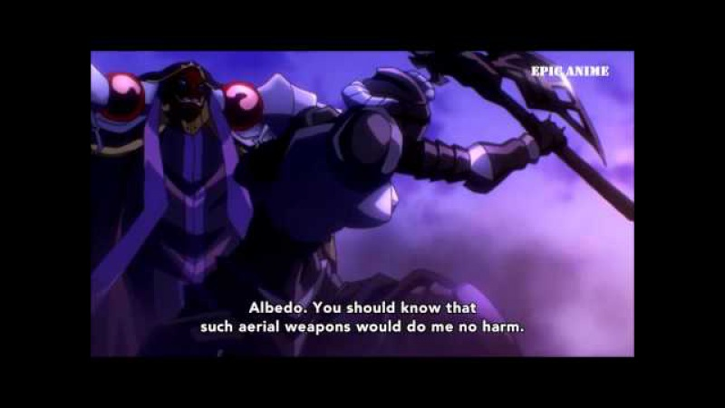 |Overlord|Ainz Ooal Gown vs Slane Theocracy|Epic Anime Scene|Full Fight|