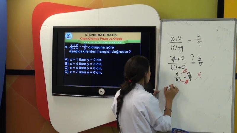 TEOG Matematik Oran ve Orantı-Olasılık