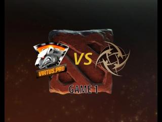 Dream Leage Virtus pro vs Ninjas in Pyjamas game 1
