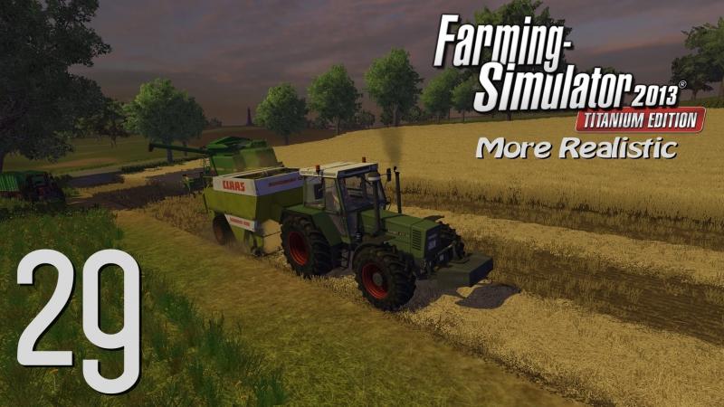 Farming Simulator 2013 (S2). 29 - Тюковка по-взрослому (More Realistic)