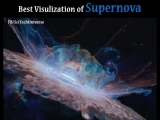 Наглядное представление образования Supernova (сверхновой звезды)
