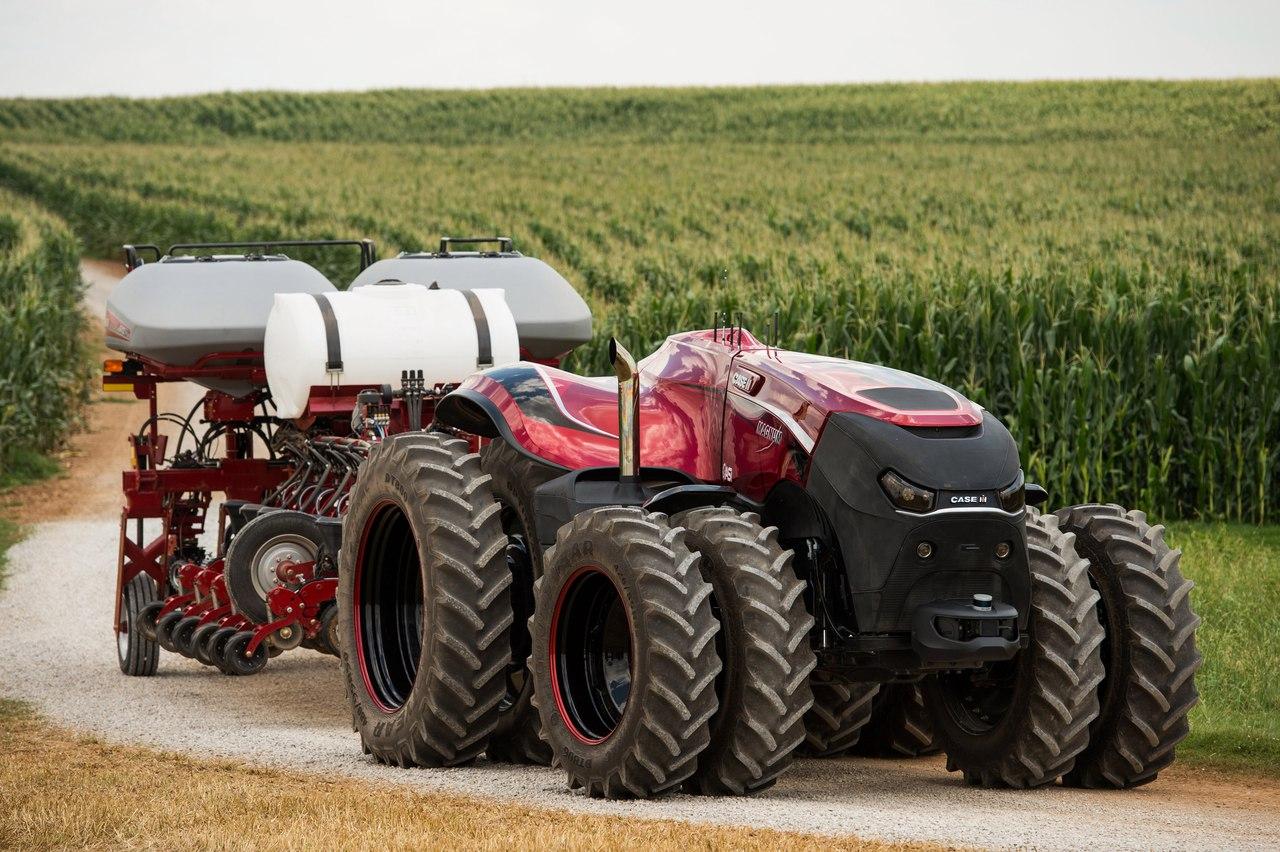 """""""Срібло"""" SIMA належить автономному трактору від Case IH"""