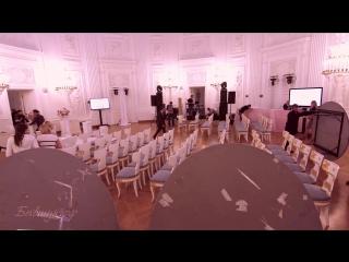 Официальная регистрация брака в Петровском Путевом дворце. Организатор #kstwedding видеосъемка #бывшукрф #выезднаярегистрация #w