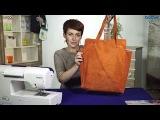 Вместительная и удобная сумка тоут из натуральной замши