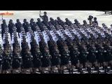 Китайские девушки на параде (КАТЮША)