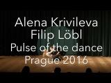 Awesome contemporary dance, Alena Krivileva &amp Filip Lbl. Pulse of the dance, Prague 2016 (4K)