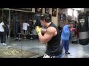 Denis Sergovskiy. Shadow boxing