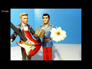 Видео игры в Куклы Барби и принцессы Диснея. Мультфильмы для девочек
