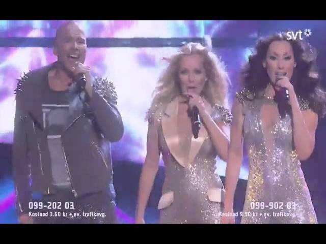 Melodifestivalen 2014 - Alcazar - Blame it on the disco