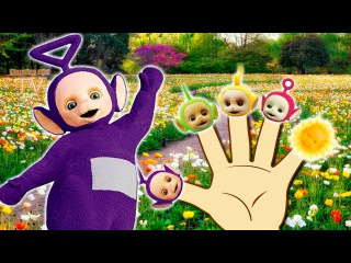 Teletubbies Finger Family \ Nursery Rhymes Lyrics and More