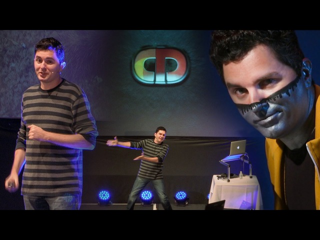 Captain Disillusion Heroic Feats of YouTube Debunkery - Live at QED 2016