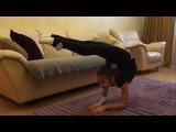 Художественная гимнастика  Как сделать элемент Мексиканка и Скорпион  Rhytmic Gymnastics