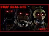 ФНАФ в Реальной Жизни!! Прикол Пародия на ФНАФ Пять ночей с Винни Пухом parody fnaf horror