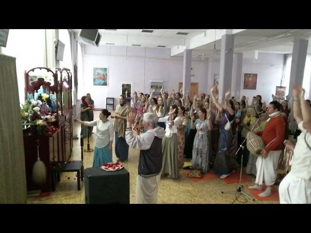2016 06 21, Вт СПб, КЦ Гаура ШБ 01 17 30 Е М Чайтанья Чандра Чаран Пр