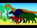 Динозаврики и Арбузик. Динозавры Мультфильм про динозавров на русском для детей
