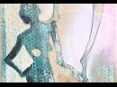 Alice-ART Gelatine-Druck Balance auf Leinwand aufgezogen gelatin print mounted on canvas